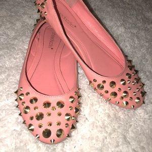 Women's size 7 shoedazzle flats shoes